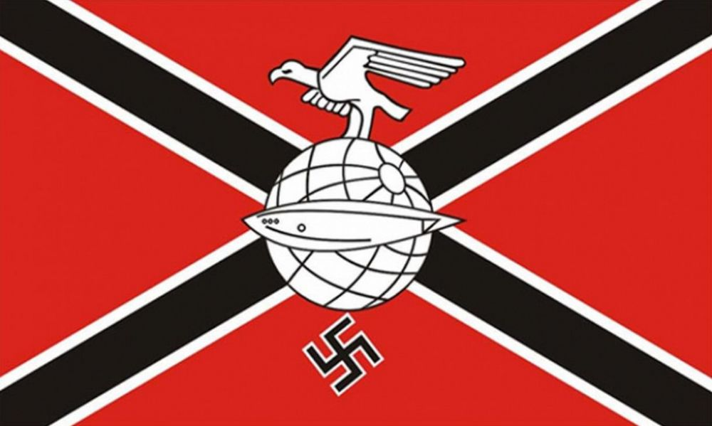GERMAN ZEPPELIN CORPS NAZI 5 X 3 FLAG